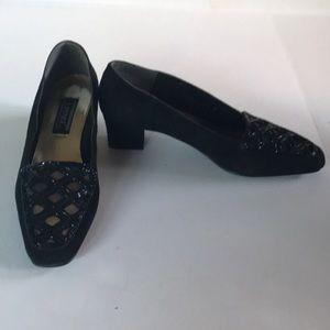 Black Suede Shoes 10M